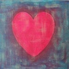 Heart Cutout Canvas