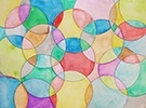 Stained Glass Watercolor Paper